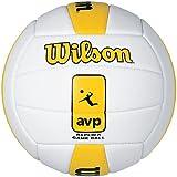 Wilson AVP Replica Volleyball White-Yellow