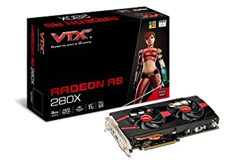 VTX3D VXR9 280X 3GBD5-2DHEV2 3GB Graphics Card
