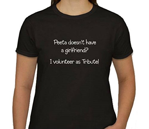 Peeta Doesn't Have a Girlfriend Funny T Shirt (large)