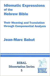 dissertation hebrew bible