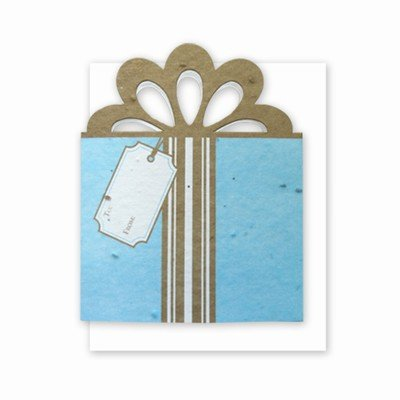 Grow A Note® Gift Card Holder Tiffany/Gold