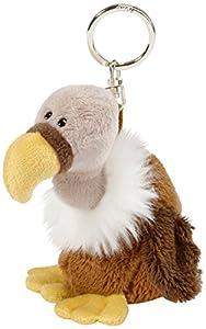 NICI vulture Soft Toy Key Holder with Key Ring 10 cm