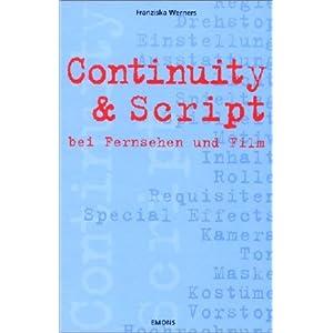 Continuity & Script bei Fernsehen und Film