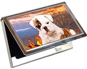 Amazon Bulldog Business Card Credit Card Case