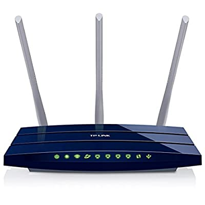 TP-Link TL-WR1043ND 450Mbps Wireless N Gigabit Router (Blue)
