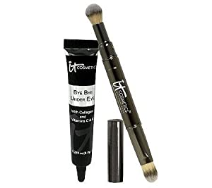 It Cosmetics Bye Bye Under Eye Concealer with Collagen & Brush