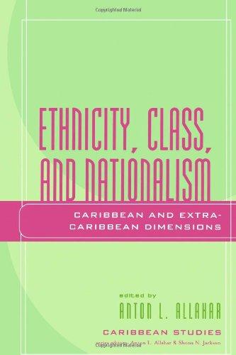 种族、 阶级和民族主义: 加勒比和外加勒比尺寸 (加勒比研究 (拉纳,马里兰州))。