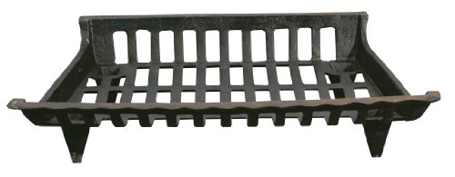 Why Choose The Panacea 15424 Cast Iron Fire Grate, Black, 24-Inch