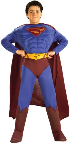 Superman Returns Child Muscle Chest Costume - Child & Toddler