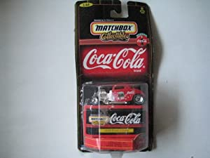 Matchbox Collectibles - Coca-Cola Collection - 1933 Ford Coupe (Red & White) - 1:64 Scale