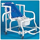 Swing Arm Recliner Shower/Commode Chair - Shower/Commode Chair - Model 565898