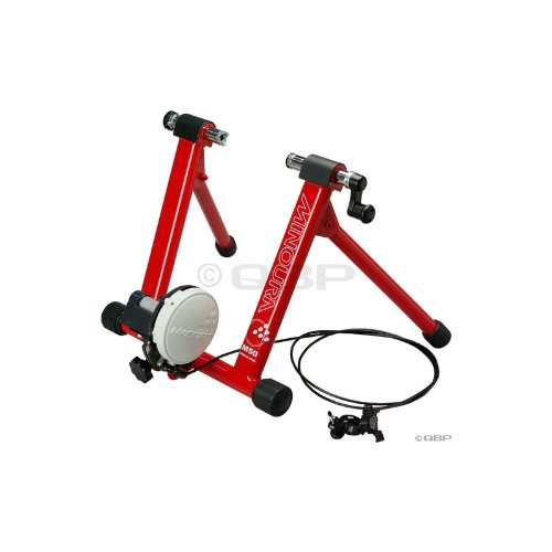 Minoura M50LT-W Dual Hub 5-Level Bicycle Trainer with Remote