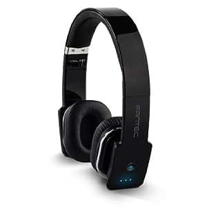 Fantec SHS-421BT Wireless Multimedia Headset Bluetooth Black