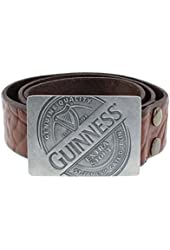 Guinness Label Leather Belt