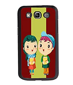 Fuson Love Couple Back Case Cover for SAMSUNG GALAXY E7 - D3740