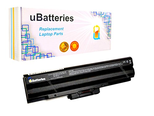 Click to buy UBatteries Laptop Batteries Sony VAIO VGN-CS21S/T VGN-CS215J/P VGN-CS215J/Q VGN-CS215J/R VGN-CS215J/W VGN-CS21S/P VGN-CS21S/R - 6600mAh, 9 Cell (Black) - From only $62.95