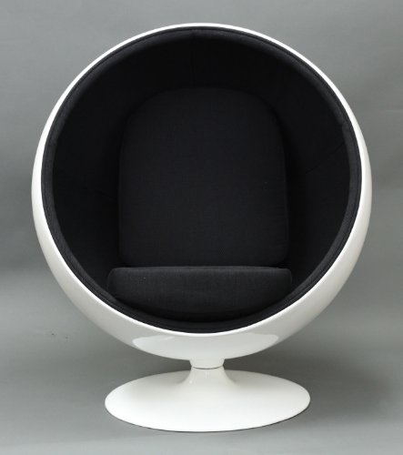 cheap egg chair cheap lexington modern eero aarnio style ball chair black. Black Bedroom Furniture Sets. Home Design Ideas