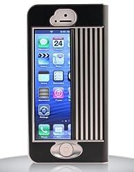iPhone シャッターケース iGuard5 美しさと保護を兼ね備え、かつ機能的で頑丈 iPhone5 (ジェットブラック)