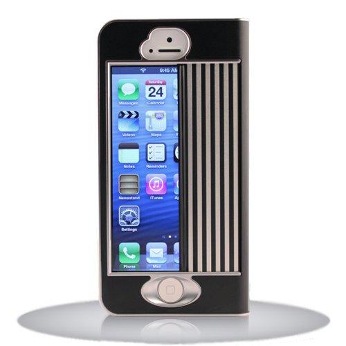iPhone シャッターケース iGuard5 (ジェットブラック)