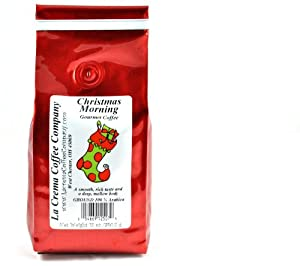 La Crema Coffee Stocking, Christmas Morning, 12-Ounce Packages (Pack of 2)