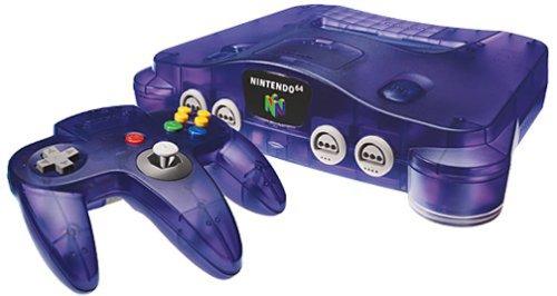 Nintendo 64 Console - Purple