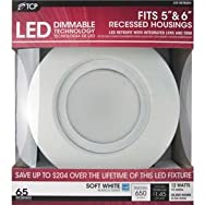 TCP RL12DR6527K LED Retrofit Recessed Light Kit-12W 5/6