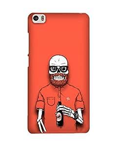 Pick Pattern Back Cover for Xiaomi Mi 5(Matte)