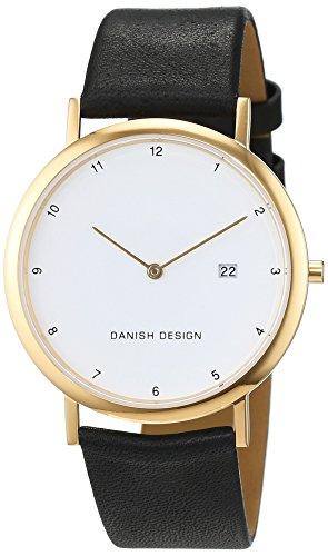 Danish Design - IQ10Q881 - Montre Mixte - Quartz - Analogique - Bracelet cuir noir