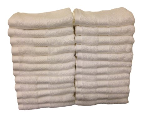 grandeur luxury hospitality washcloths 24 pack home