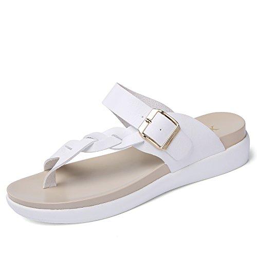 Ms. semplici da cerimonia, Slip/heavy-bottomed Sandali e pantofole/sandali flip femmina, (A), Lunghezza 23.3 cm (9.2Inch)