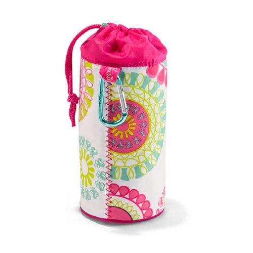 Thirty One Bring-A-Bottle Thermal In Citrus Medallion - No Monogram - 4186 front-42419