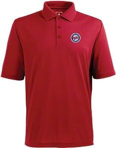 Minnesota Twins Pique Xtra Lite Polo Shirt (Team Color) by Antigua