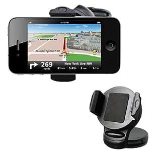 Auto Kfz Halter für Apple iPhone 5 / iPhone 4 / iPhone 4S / iPhone 3GS / iPhone 3 / iPod / Autohalterung 360° Grad Schwankbar VIBRATIONSFREI