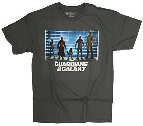 Guardians of the Galaxy The Line Up T-Shirt