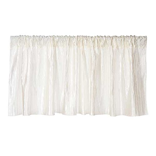 Sweet Potato Lil' Princess Window Valance, Cream/Ivory