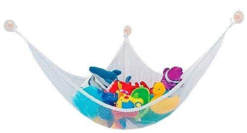 吊り下げ 式 ハンモック おもちゃ ぬいぐるみ お風呂 子供 部屋 室内 用 収納 片付け ネット MI-SPHANM