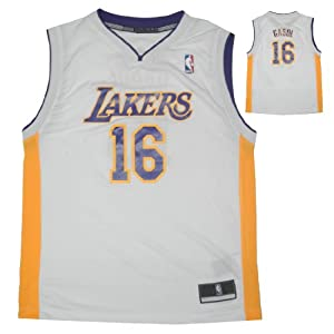 NBA LOS ANGELES LAKERS GASOL #16 Youth Comfortable Fit Sleeveless Jersey Shirt by NBA