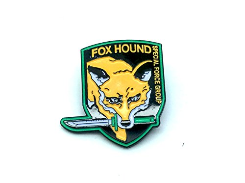 Foxhound Metal Gear Solid Cosplay Metal Pin Badge