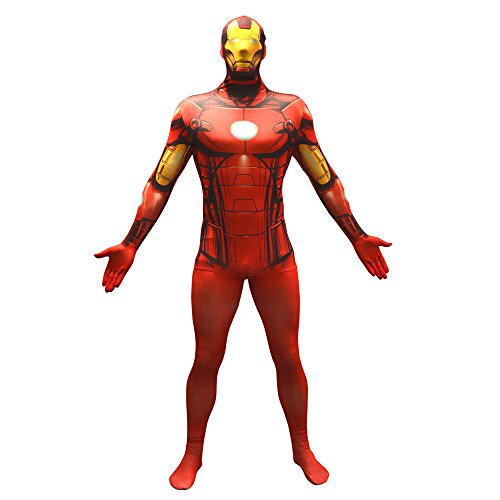 MORPHSUITS MARVEL IRON MAN Costume VALUE taglia L