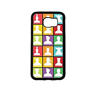 Vibhar printed case back cover for Samsung Galaxy S6 Avatars