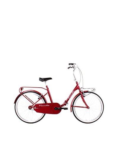 SCHIANO Bicicleta Plegable 24 Rojo