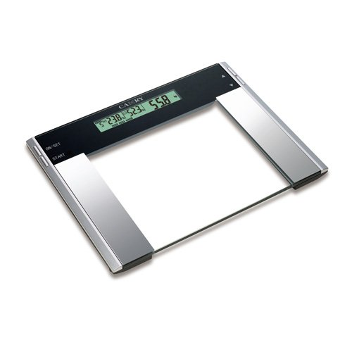 Cheap Camry wide Glass platform scale with Fat/hydration/muscle Monitor 200kg /440lb (EF922)