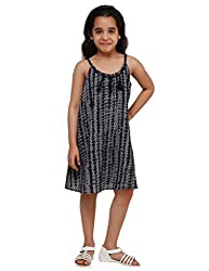 Oxolloxo Girls printed pleated dress