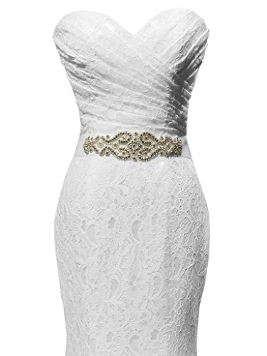 Solovedress-Womens-Lace-Wedding-Dress-Mermaid-Evening-Dress-Bridal-Gown-with-Sash