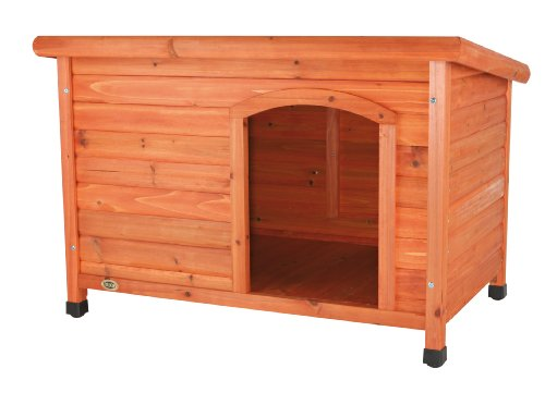 Trixie Natura Flat Roof Dog Kennel, Large, 104 × 72 × 68 cm