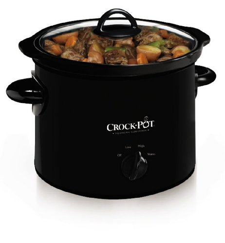 Crock-Pot SCR300-B Manual Slow Cooker, 3 Quart (Slow Cooker Cheap compare prices)