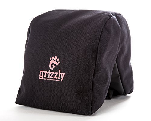 Grizzly Camera Bean Bag LARGE BLACK, Photography Bean Bag, Video Bean Bag, Camera Support, Camera Sandbag, Camera Beanbag, Spotting Scope Support, B
