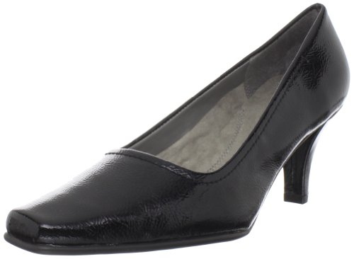 Aerosoles Women's Envy Pump,Black Patent,7 W US