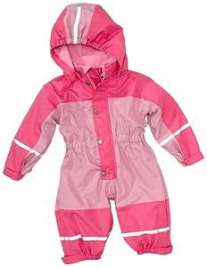 Playshoes Babyoverall mi Fleece-Futter 405400 - Peto con cuello con capucha, unisex