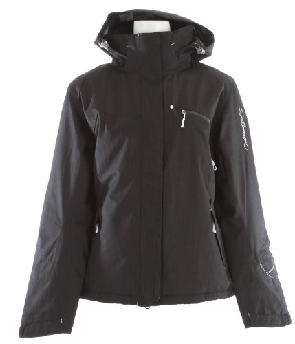 SALOMON Damen Jacke Fantasy II, black, L, 12092833